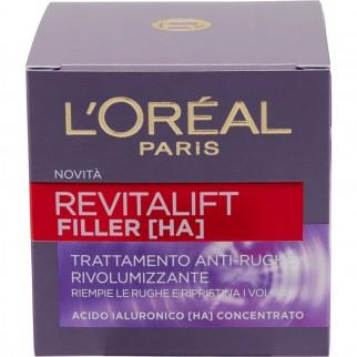 L'Oréal Paris Revitalift Filler [HA] Trattamento Antirughe Rivolumizzante con Acido Ialuronico