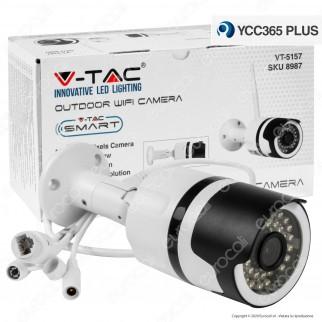 V-Tac VT-5157 Telecamera di Sorveglianza Wifi IP 3MP - SKU 8987