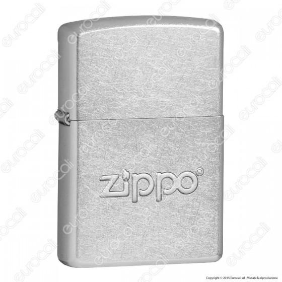 Accendino Zippo Mod. 21193 Zippo Stamp - Ricaricabile Antivento