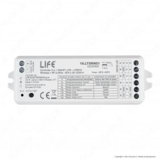 Life Modulo Controller 5in1 Life512 SmartLife ON/OFF DIM/CCT/RGB/RGBW/RGBCCT - mod. 16.LT5RW01