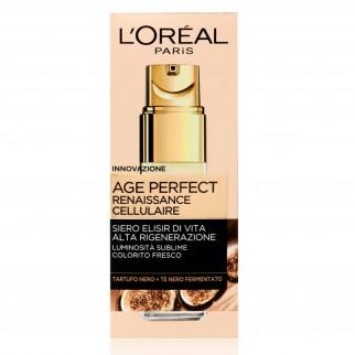 L'Oréal Paris Age Perfect Renaissance Cellulaire Siero Viso Concentrato Rigenerante con Tè Nero