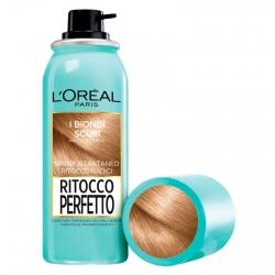 L'Oréal Paris Ritocco Perfetto Spray per Capelli Bianchi Colore 4 Biondo Scuro