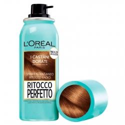 L'Oréal Paris Ritocco Perfetto Spray per Capelli Bianchi Colore Castano Dorato