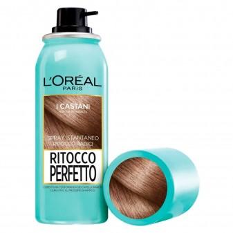 L'Oréal Paris Ritocco Perfetto Spray per Capelli Bianchi Colore Castano