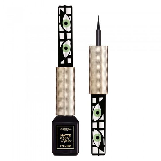 L'Oréal Paris Matte Signature Eyeliner Colore 01 Magnetica Waterproof 24H