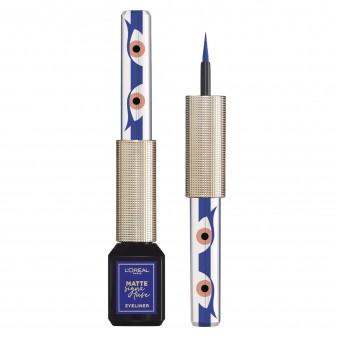 L'Oréal Paris Matte Signature Eyeliner Colore Blu Magnetica Waterproof 24H
