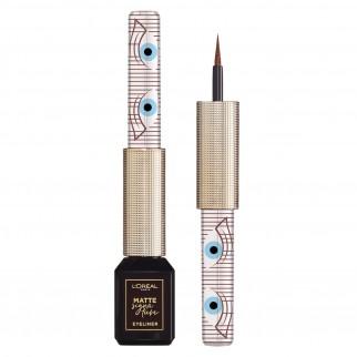 L'Oréal Paris Matte Signature Eyeliner Colore Brown Magnetica Waterproof 24H