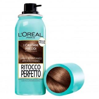 L'Oréal Paris Ritocco Perfetto Spray per Capelli Bianchi Colore Castano Freddo