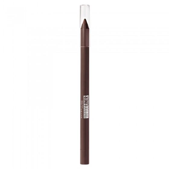 Maybelline New York Tattoo Liner Gel Pencil Matita Occhi Temperabile Colore 910 Bold Brown