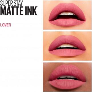 Maybelline New York SuperStay Matte Ink Tinta Labbra Colore 15 Lover