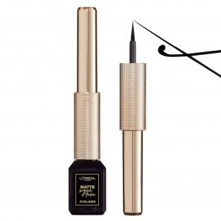 L'Oréal Paris Ribelle à Paris Pochette con Mascara Volumizzante Air Mega Volume e Eyeliner Nero Matte Signature Waterproof