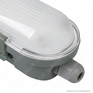 V-Tac VT-120036 Tubo LED Plafoniera M-Series 36W Lampadina 120cm Impermeabile IP65 - SKU 20204