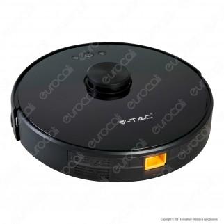 V-Tac VT-5556 Robot Aspirapolvere Lavapavimenti Smart Gyro Ricaricabile con Sensore Laser 360° e Wi-Fi - SKU 7933