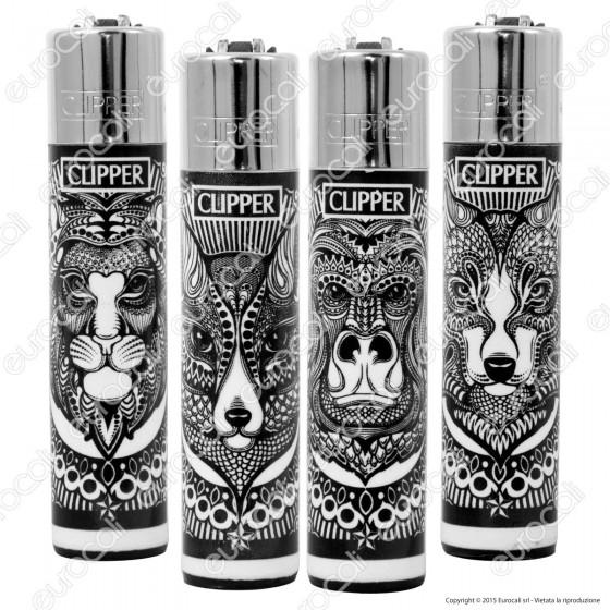 Clipper Large Fantasia Tattoo Animals - 4 Accendini