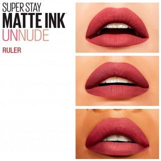 Maybelline New York SuperStay Matte Ink Tinta Labbra Colore 80 Ruler