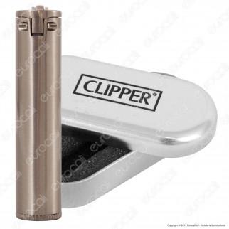 Clipper Metal Large in Metallo Gasoline a Benzina - 1 Accendino