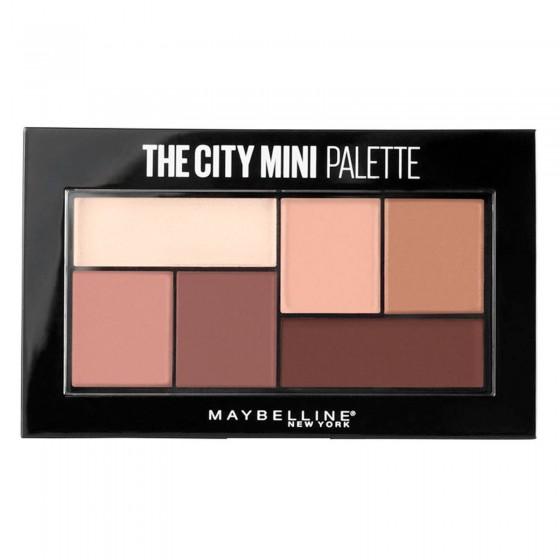 Maybelline New York The City Mini Palette Ombretti Colori 480 Matte About Town