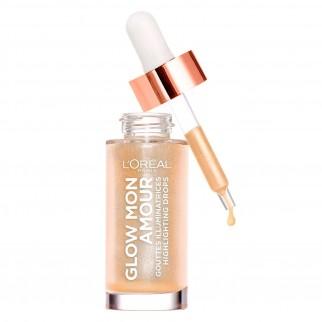 L'Oréal Paris Kit Viso Pochette con BB Cream C'est Magic Colore 02 Light e Illuminante Glow Mon Amour 01 Sparkling Love