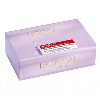 L'Oréal Paris Revitalift Filler + Acido Ialuronico Ampolle Rimpolpanti Monodose per Trattamento Antirughe