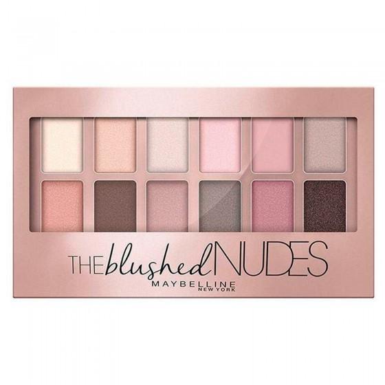 Maybelline New York The Blushed Nudes Palette 12 Ombretti Colore Nudo Rosato