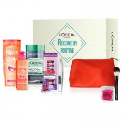 L'Oréal Paris Beauty Box Recovery Routine Pochette e Kit Beauty