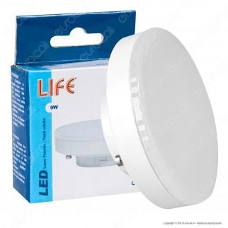 Life Lampadina LED GX53 9W Bulb Disc - mod. 39.950091N / 39.950091F
