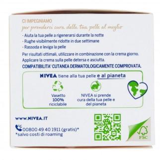 Nivea Naturally Good Crema Notte Anti Rughe - Barattolo da 50ml