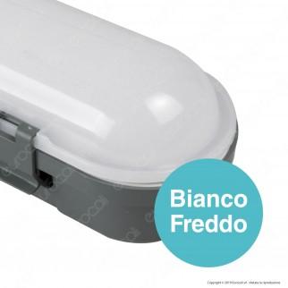 V-Tac VT-150048 Tubo LED Plafoniera M-Series 48W Lampadina 150cm Impermeabile IP65 - SKU 20202