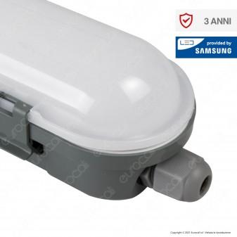 V-Tac VT-150048 Tubo LED Plafoniera M-Series 48W Lampadina 150cm Impermeabile IP65 - SKU 20203 / 20202