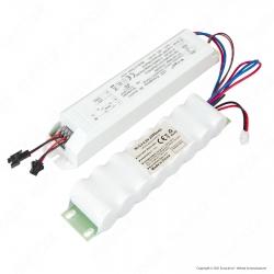 V-Tac Kit Conversione in Emergenza per Tubo Plafoniera LED VT-150148 e VT-120136 con Batteria - SKU 8343