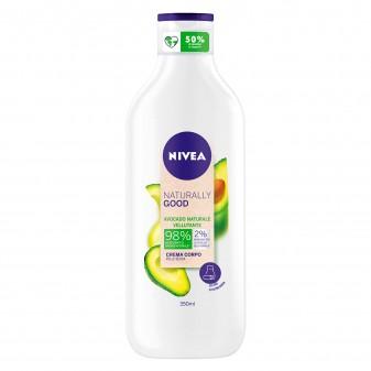 Nivea Naturally Good Crema Corpo Vellutante all'Avocado - Flacone da 350ml