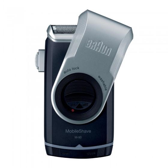 Braun Rasoio Elettrico da Barba Da Viaggio Mobile Shave M90