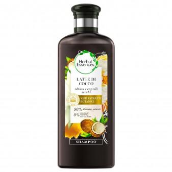 Herbal Essences Shampoo Capelli Secchi Idratante al Latte di Cocco - Flacone da 250ml