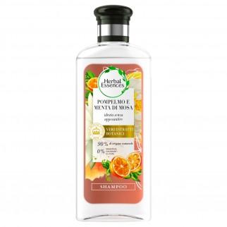 Herbal Essences Shampoo Capelli Pompelmo Bianco e Menta Mosa - Flacone da 250ml