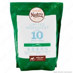 Nutro Limited Ingredient con Agnello Cibo per Cani Adulti Taglia Media - 1 Busta da 1,4Kg