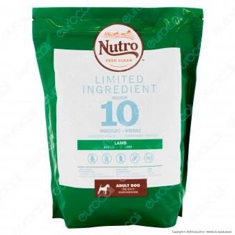 4Buste di Nutro Limited Ingredient con Agnello Cibo per Cani Adulti Taglia Media da 1,4Kg