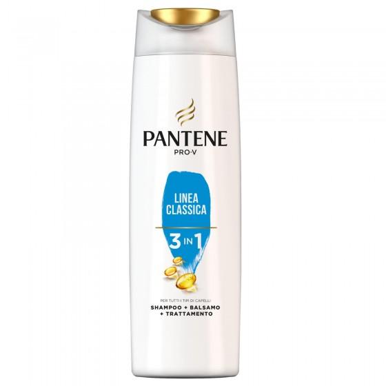 Pantene Pro-V Linea Classica 3in1 Shampoo + Balsamo + Trattamento - Flacone da 225ml