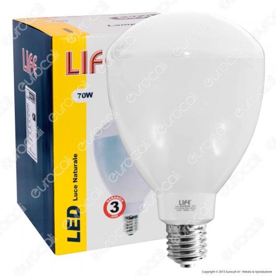 Life Lampadina LED E40 70W High Power Bulb per Campane Industriali