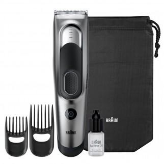 Braun HC5090 Tagliacapelli Regolabarba Uomo e Rasoio Elettrico Barba con 17 Impostazioni di Lunghezza e DualBattery