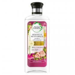 Herbal Essences Shampoo Capelli Sottili Purificante alla Fragola Bianca e Menta Dolce - Flacone da 250ml