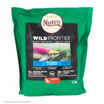 Nutro Wild Frontier con Salmone e Pesce Bianco Alimento Secco per Gatti Adulti - Busta da 1,5Kg