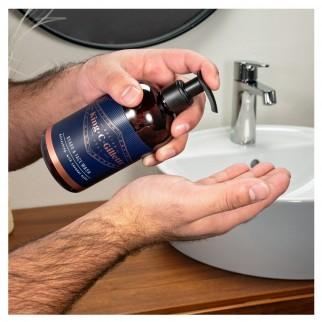 King C Gillette Detergente Barba e Viso con Olio di Argan e Olio di Cocco - Confezione da 3