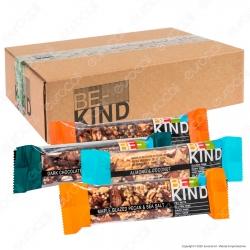 Be-Kind Kit Snack con 6 Gusti - Box da 18 Barrette da 40g