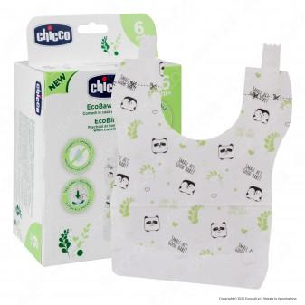 Chicco Eco Bavaglini Usa&Getta Monouso Biodegradabili - Confezione da 36 Bavaglini