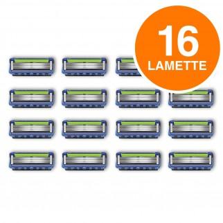 Lamette di Ricarica Gillette Fusion ProGlide con Lame - Confezione da 16 Ricambi