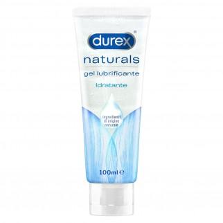 Durex Naturals Gel Lubrificante Intimo Idratante con Acido Ialuronico 100ml
