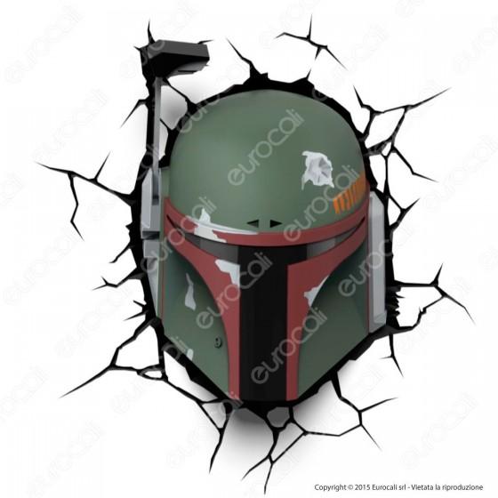 3D Light Fx Star Wars Boba Fett- Lampada LED a Batteria