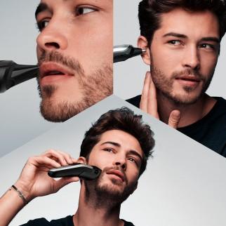 Braun Trimmer MGK7220 Rifinitore Multiuso Uomo 10in1 con Rasoio Gillette SkinGuard