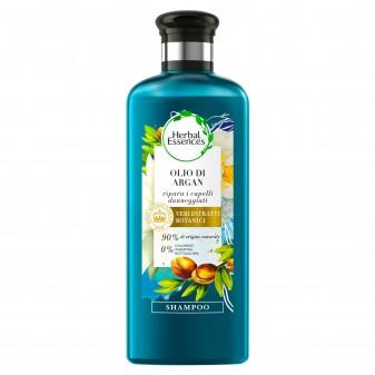 Herbal Essences Shampoo Capelli Danneggiati Riparatore con Olio di Argan - Flacone da 250ml