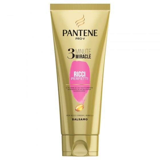 Pantene Pro-V 3 Minute Miracle Ricci Perfetti Balsamo per Capelli Ricci Intensivo Anticrespo - Flacone da 150ml